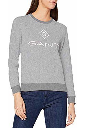 GANT Women's D1 Lock Up C-Neck Sweat Sweatshirt