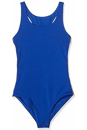 Tommy Hilfiger Girls Swimsuits - Girls SWIMSUIT Non-Wired Swimsuit, Blau (Surf The Web 405)