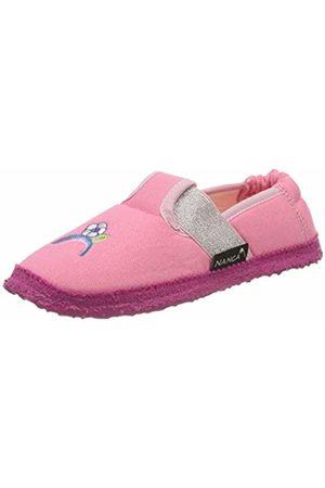Nanga Girls' Einhorn Open Back Slippers, (Rosa 25)