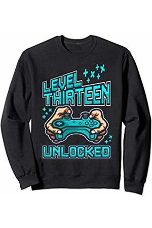 Merry Christmas Retro Old School Gamer Gaming Santa Hat Sweatshirt Jumper gift