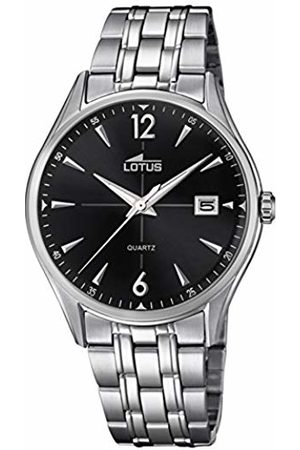 Lotus Men's Analogue Analog Quartz Watch with Stainless Steel Strap 18375/2