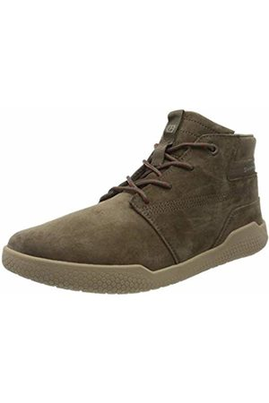 Cat Footwear Men's HEX MID Hi-Top Trainers, (Muddy Mud )