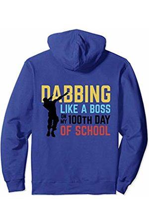 iRockstar Design 100th Day Preschool Dabbing Gamer Kids 100 Days of School Pullover Hoodie