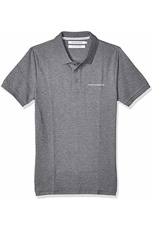 Calvin Klein Men's Stretch INSTITUTIONAL Polo Slim Shirt