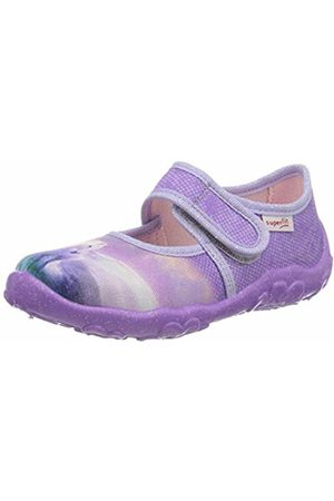 Superfit Girls' Bonny Low-Top Slippers, (Lila 90)