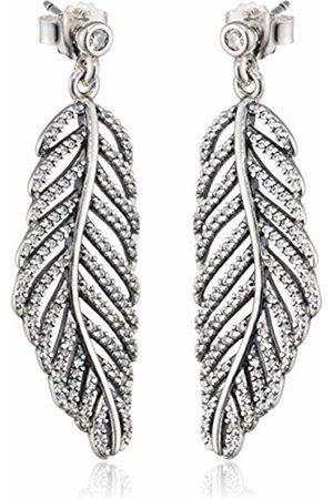 PANDORA Women 9 k (375) Zircon Earrings