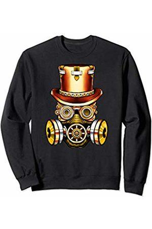 Vintage Classic Retro 80s Throwback Steampunk Art Original Teen Gear Gasmask Air Pollution Save The Planet Sweatshirt
