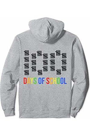 iRockstar Design 100th Day Of School Costume For Girls Boys Preschool Teacher Pullover Hoodie