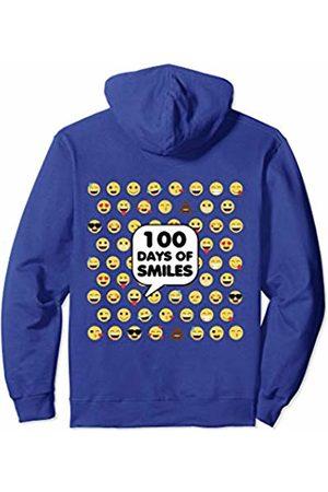 iRockstar Design 100th Day Preschool For Girls Boys Teacher Cute Emoji School Pullover Hoodie