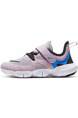 Nike Unisex Kids Free Rn 5.0 (PSV) Running Shoe, Iced Lilac/Soar/Off Noir/
