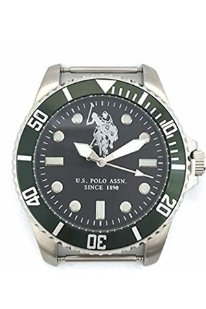 U.S. Polo Assn. U.S. POLO ASSN Watch USP3030GR Men's Quartz Analogue Colour Dial Size 40 mm