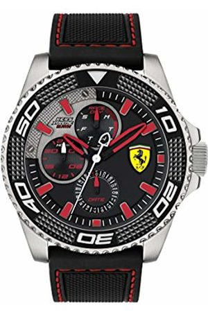 Scuderia Ferrari Mens Analogue Classic Quartz Watch with Silicone Strap 0830467