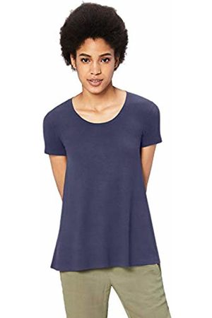 Daily Ritual Jersey Short-sleeve Scoop Neck Swing T-shirt Medium )