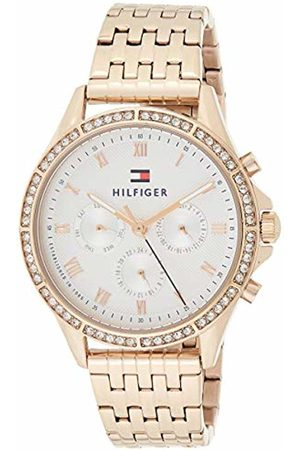 Tommy Hilfiger Womens Multi dial Quartz Watch with Rose Strap 1781978