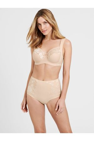 Miss Mary Lovely Lace Underwired Cotton Bra With Side Support