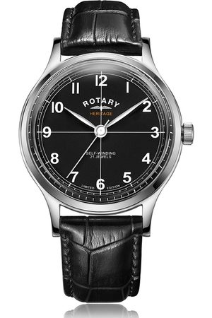 Rotary Watches Rotary Heritage Stainless Steel Automatic Watch