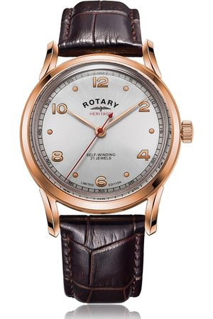 Rotary Watches Rotary Heritage Rose Pvd Automatic Watch