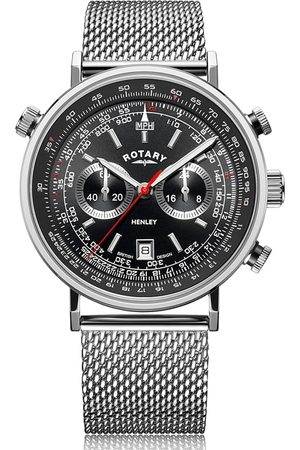 Rotary Watches Rotary Henley Mesh Bracelet Stainless Steel Watch