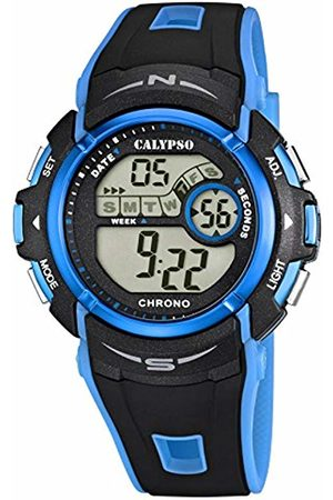 Calypso Unisex-Adult Digital Quartz Watch with Plastic Strap K5610/6