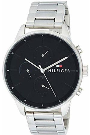 Tommy Hilfiger Watches - Unisex-Adult Multi dial Quartz Watch with Stainless Steel Strap 1791485