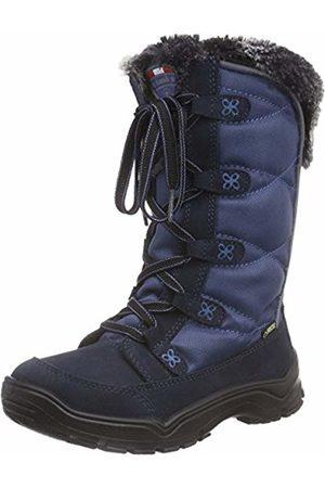 Kamik Unisex Babies' SNOWJAMG Snow Boots, Blau (Navy-bleu/Nav)