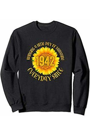 Sunflower Birthday Gifts Sunflower 1942 78 Years Old Womens 78th Birthday Gifts Sweatshirt