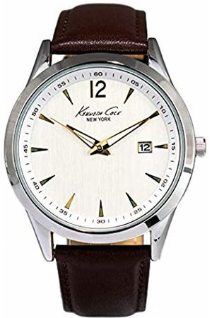 Kenneth Cole Unisex Adult Quartz Watch with Stainless Steel Strap 10008158