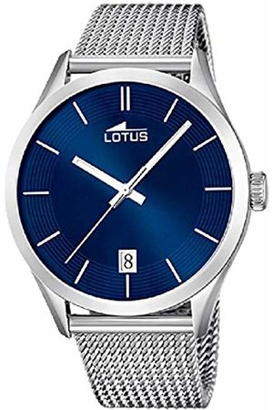 Lotus Men Watches - Men's Analogue Watch with Stainless Steel Strap 18108/6
