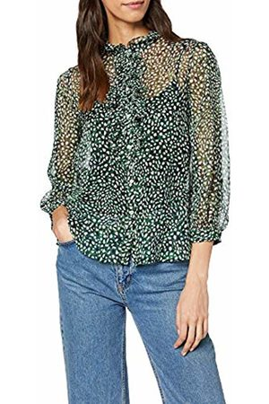 French Connection Women's CADE Crinkle Blouse