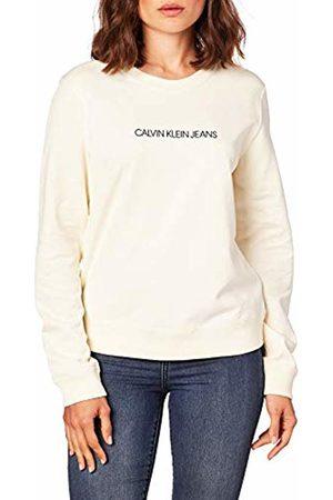 Calvin Klein Women's INSTITUTIONAL Regular Crew Neck Sweater