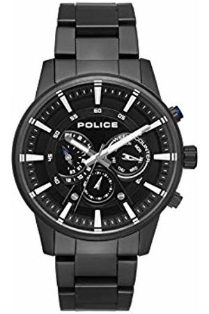 Police Mens Multi dial Quartz Watch with Stainless Steel Strap PL.15523JSB/02M