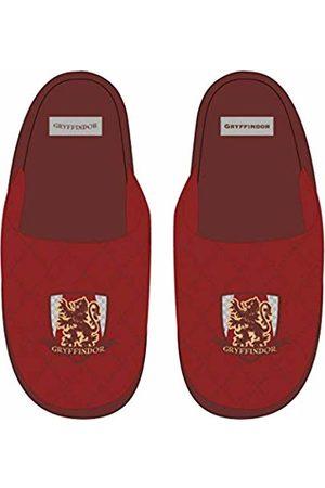 Artesanía Cerdá Zapatillas DE CASA ABIERTA Premium Harry Potter Gryffindor Estar por, (Rojo C06)