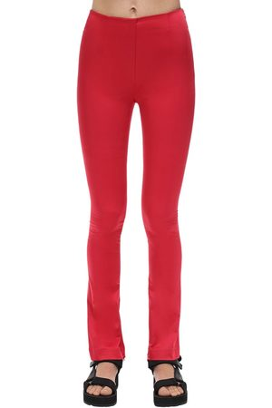 We11 Done Zipped Ankle Satin Pants