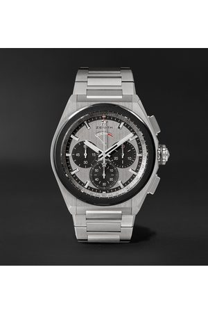 Zenith Defy El Primero 21 Automatic Chronograph 44mm Brushed-titanium Watch, Ref. No. 95.9005.9004/01.m9000