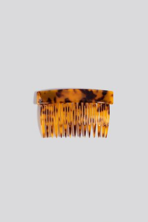 NA-KD Resin Hair Comb - Brown
