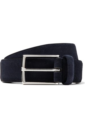 Anderson's Men Belts - 3.5cm Suede Belt