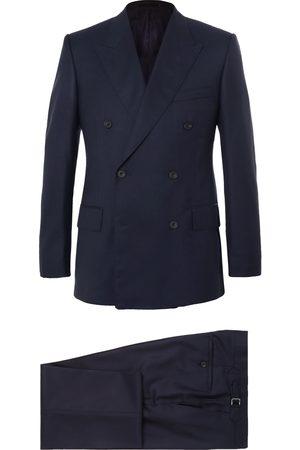 KINGSMAN Men Suits - Harry's Navy Super 120s Wool Suit