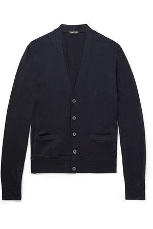 Tom Ford Men Cardigans - Wool Cardigan