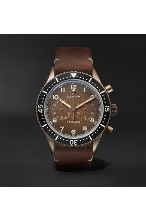 Zenith Pilot Cronometro Tipo Cp-2 Automatic 43mm Bronze And Nubuck Watch, Ref. No. 29.2240.405/18.c801