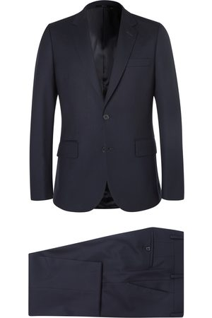 Paul Smith Grey A Suit To Travel In Soho Slim-fit Wool Suit