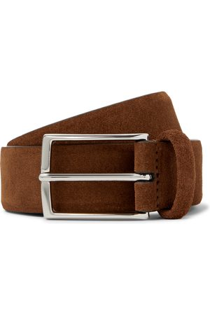 Anderson's Men Belts - 3.5cm Suede Belt