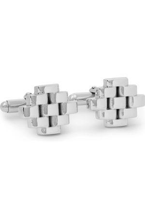 Lanvin Rhodium-Plated Cufflinks