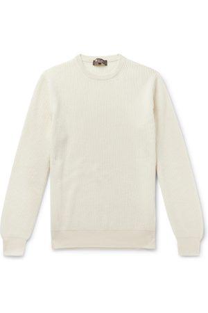 Loro Piana Slim-fit Ribbed Cashmere Sweater