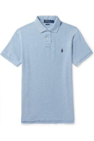 Polo Ralph Lauren Men Polo Shirts - Slim-fit Cotton-piqué Polo Shirt