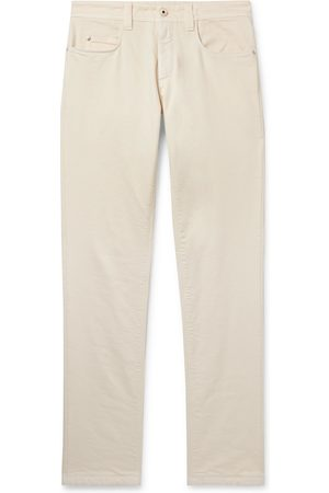 Loro Piana Men Slim - Slim-fit Rain System Denim Jeans