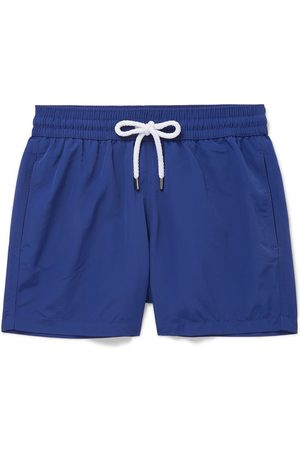Frescobol Carioca Men Swim Shorts - Slim-fit Short-length Swim Shorts