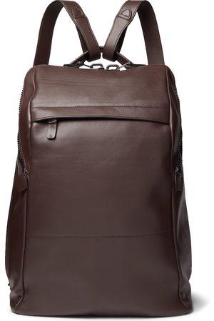 Álvaro Agape Leather Backpack