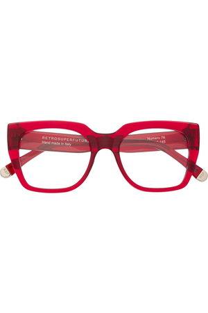 Retrosuperfuture Sunglasses - Numero 76 square frame glasses