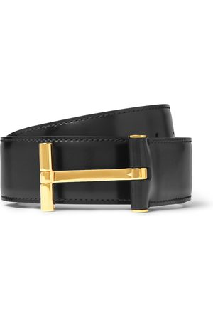 Tom Ford 4cm Dark-brown Leather Belt