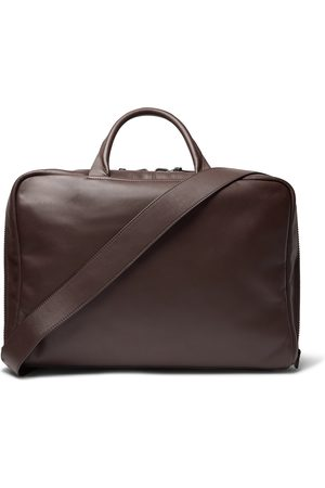 Álvaro Arturo Leather Briefcase